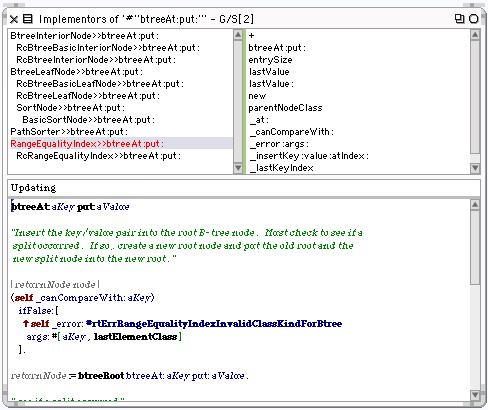 Implementors Browser